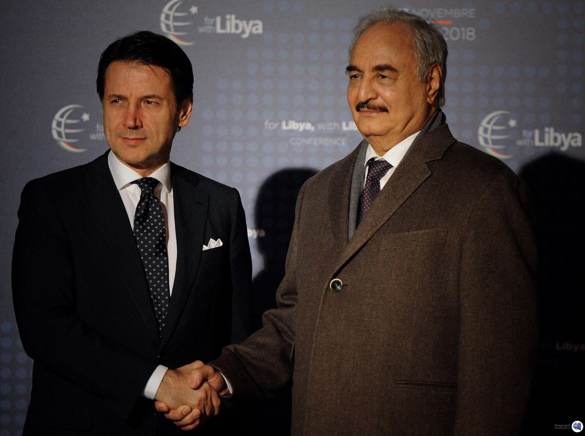صورة قيادة الجيش الليبي : حفتر لن يشارك في مؤتمر باليرمو