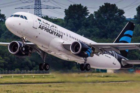 صورة الأفريقية تكشف حقيقة سرقة محركات الطائرات في معيتيقة