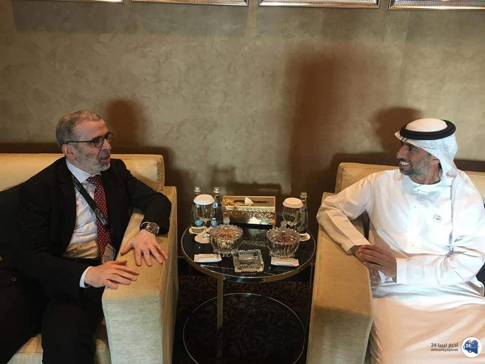 صورة وزير الطاقة السعودي يشيد بالاستقرار والإنتاج في قطاع النفط الليبي