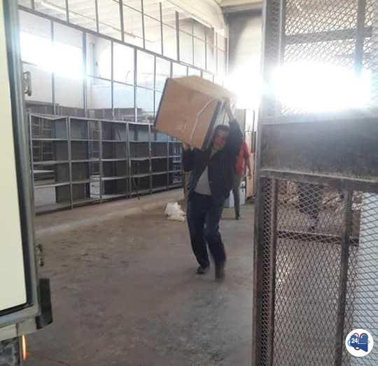 صورة وصول أدوية علاج الأورام إلى جهاز الإمداد الطبي بنغازي