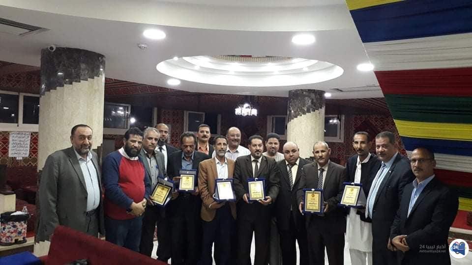 صورة نقابة معلمي ليبيا في مصر بدعوة من اتحاد المعلمين العرب