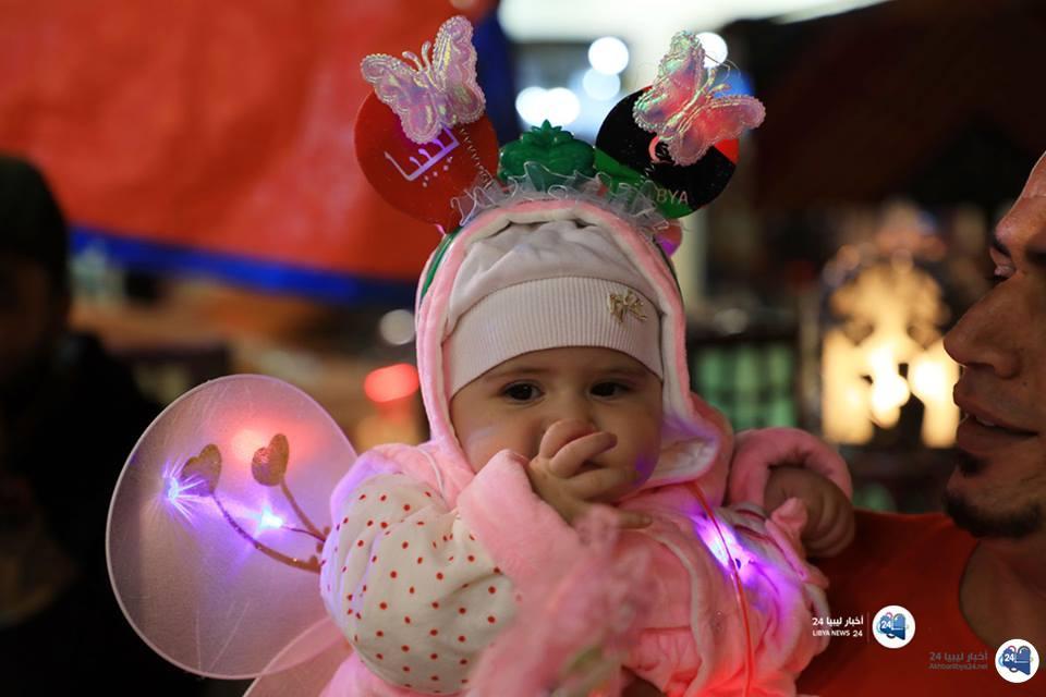 صورة كعادة أسلافهم .. الليبيون يحتفلون بالمولد النبوي على طريقتهم