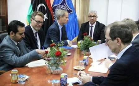 صورة باشاغا يستقبل لجنة العقوبات بمجلس الأمن