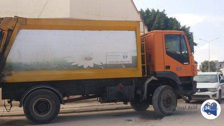 صورة الخدمات العامة طبرق توقف أعمالها بسبب الاعتداء على أحد مستخدميها