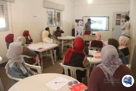 صورة انطلاق المرحلة الأولى من دورة تعلّم لغة الإشارة في بنغازي