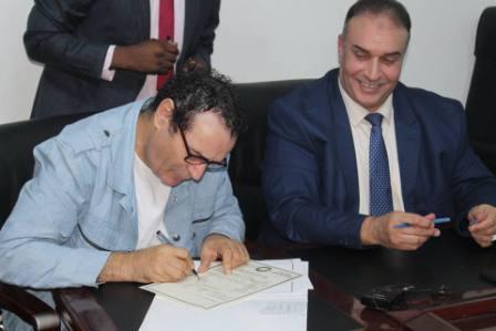 صورة عبدالرّزاق الدّاهش يتسلّم مهام إدارة هيئة دعم وتشجيع الصّحافة