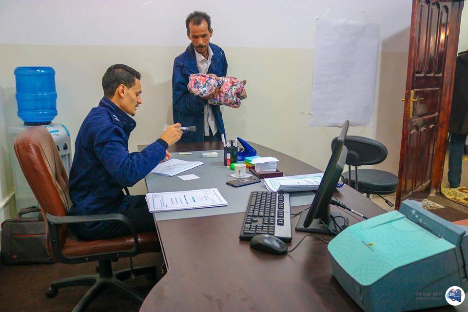 """صورة جوازات الساحل تنجز """"100"""" معاملة لذوي الاحتياجات الخاصة"""