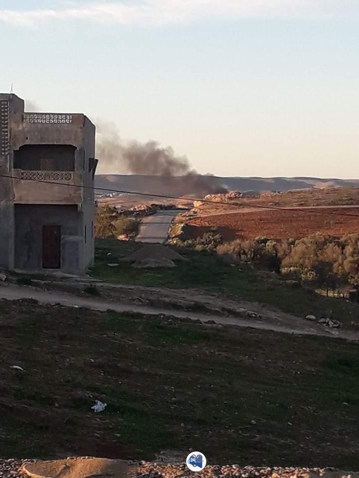 صورة 9 قتلى جراء اشتباكات مسلحة في العمامرة
