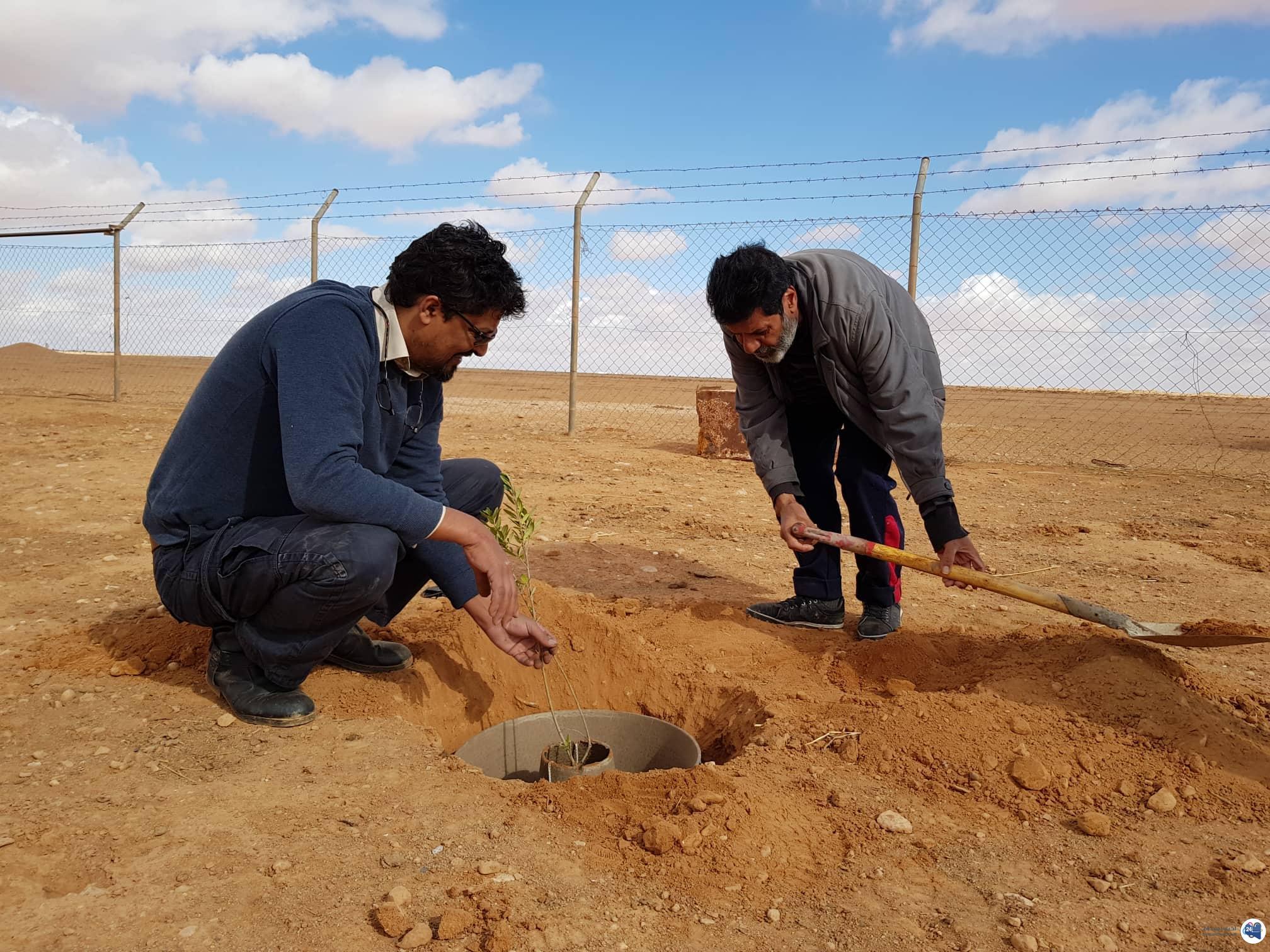 """صورة لأول مرة في ليبيا .. تجربة تقنية """"كاكون"""" الحديثة لتوفير مياه الري"""