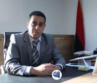"""صورة بعد دماره خلال المعارك ضد الإرهاب..مدير عام مستشفى الهواري يتحدث لـ""""أخبار ليبيا24″ عن أوضاع المرفق الصحي"""