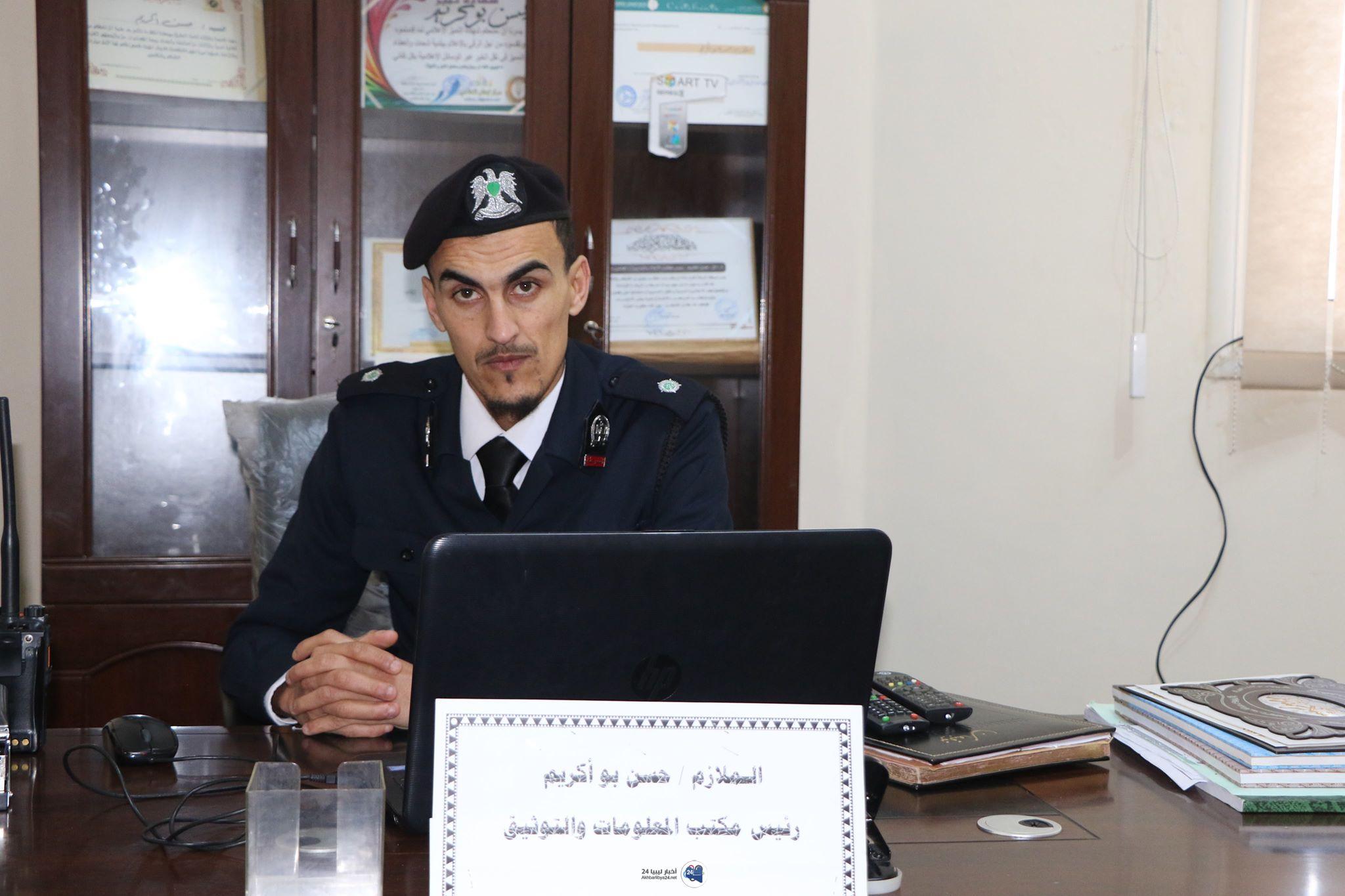 صورة انخفاض نسبة القتل والجريمة وارتفاع عدد حوادث السّير بمدينة شحات