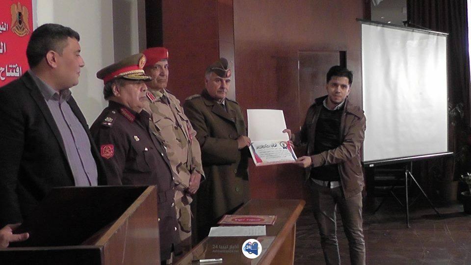 صورة بعد سبع سنواتٍ عجافٍ .. افتتاح النّيابة الجزئية العسكريّة في درنة