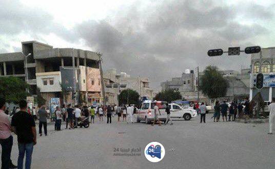 صورة بعد أقلّ من 24 ساعة من إعلان الهدنة .. عودة الاشتباكات جنوب طرابلس