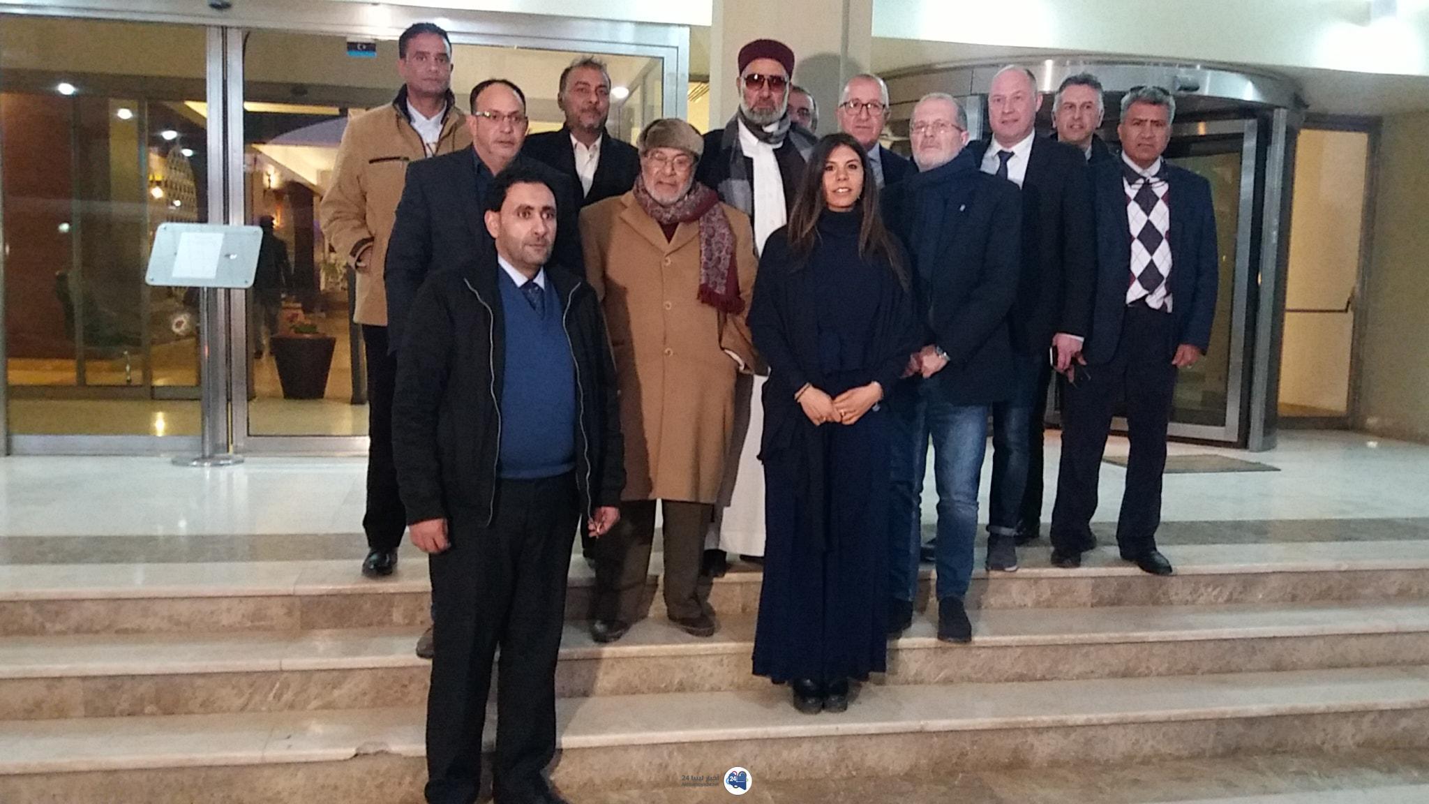 صورة بعد بنغازي .. وفد من الغرفة التجارية الإيطالية يزور مدينة طبرق
