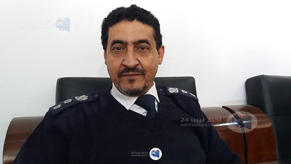 صورة مدير أمن طبرق : الجدار الأمني بين ليبيا و مصر ليس على حدود البلدين