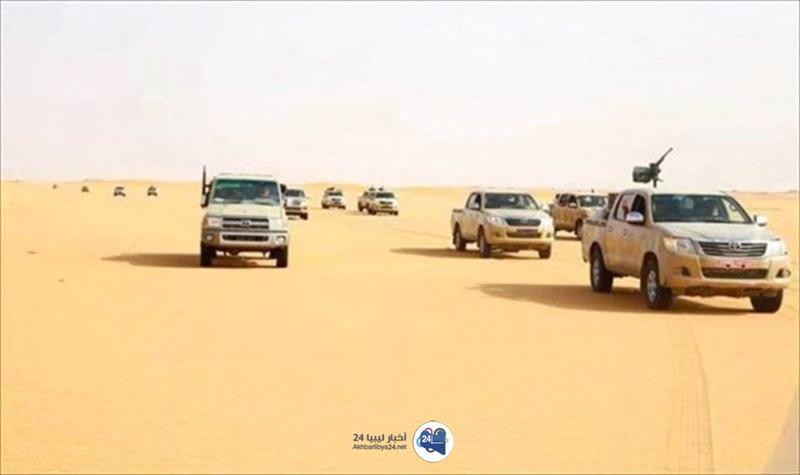 """صورة القوات المسلحة تحرر عدداً من الأسرى لدى """"داعش"""" قرب سبها"""