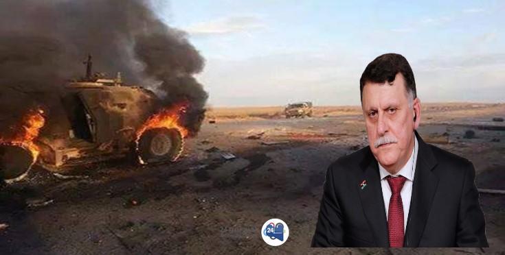 """صورة بعد تأكد الرئاسي التنسيق مع """"الافريكوم"""" .. الأخير ينفي شن أي غارات في ليبيا"""