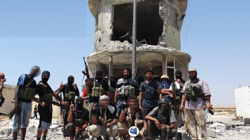 """صورة بوابة معسكر الصاعقة"""".. ذكرى تسرد خيبات داعش وهزيمتها في بنغازي"""