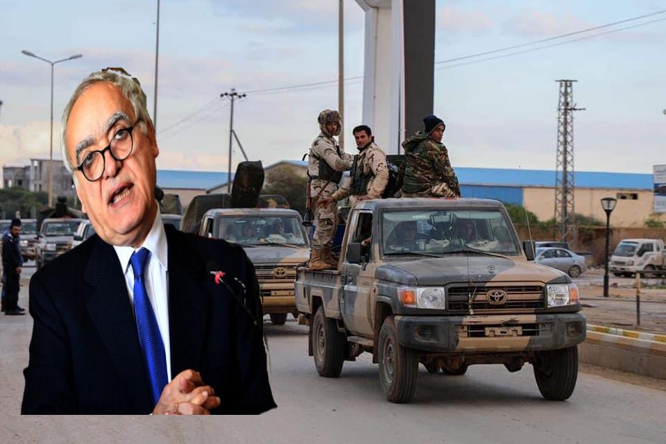صورة بعد استنكارها للعمليات العسكرية .. بعثة الأمم تدعو لمكافحة الإرهاب والجريمة في الجنوب الليبي
