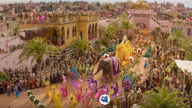 """صورة إعلان فيلم """"علاء الدين"""" الجديد يحقق مشاهدات مليونية! (فيديو)"""