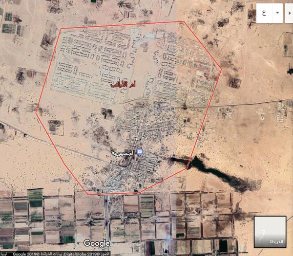 """صورة وسط ترحيب الأهالي..القوات المسلحة تدخل """"أم الأرانب"""" وتسيطر على منفذ حدودي مع الجزائر"""