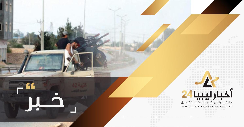 صورة بسبب القبض على أحد مؤيدي عملية الكرامة .. توتر أمني في طرابلس
