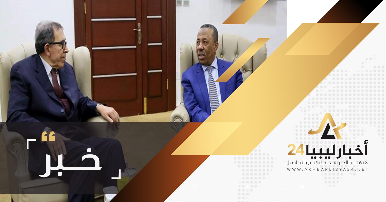 صورة الثني لممثل أمين جامعة الدول العربية : دور الحكومة المؤقتة كان واضحا رغم الحصار الذي واجهته