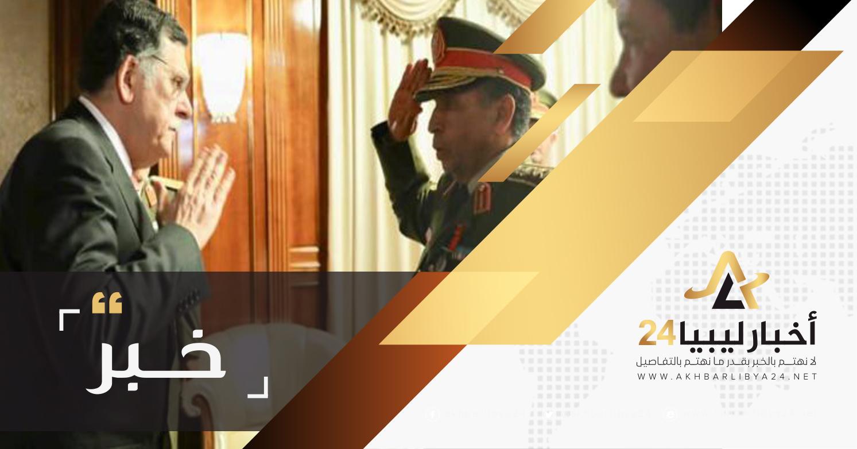 """صورة رسميًا """"الشريف"""" رئيسًا للأركان العامة للجيش و""""جحا"""" معاوناً لشؤون التدريب"""