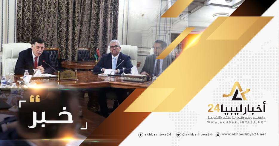 صورة باشاغا : حكومة الوفاق راضية عن لقاء السّراج وحفتر