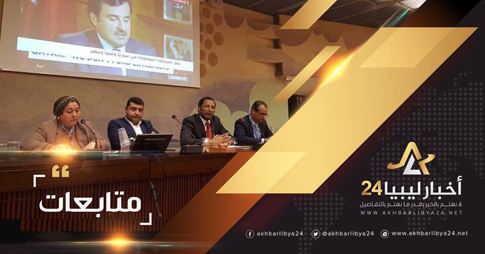 صورة الناشط السياسي سراج التاورغي : تركيا وقطر ارتكبتا انتهاكات ترقى إلى مستوى جرائم الحرب في ليبيا