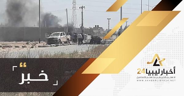 """صورة القوات المسلحة تسيطر على معسكر """"""""النبكة"""" في الخلة طرابلس"""