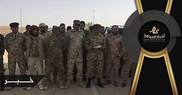 صورة قوات من بني وليد أعلنت انصياعها للقوات المسلحة..تعرف عليها