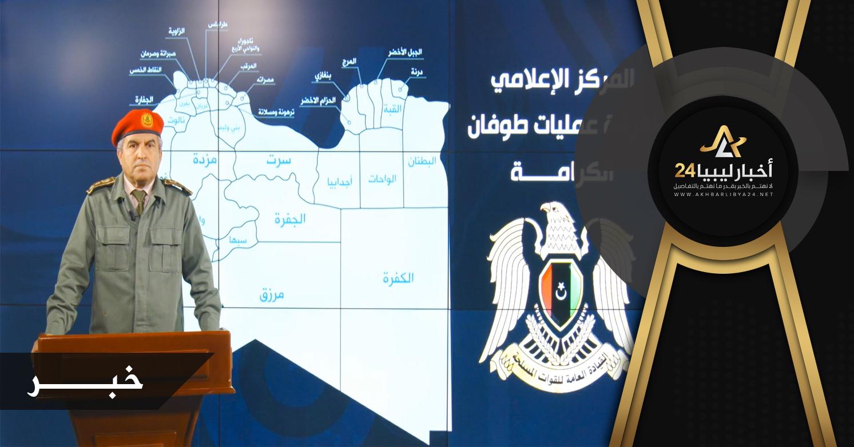 صورة المحجوب يؤكد عدم وجود حاضنة للمليشيات والجماعات الإرهابية في مدن غرب ليبيا عامة