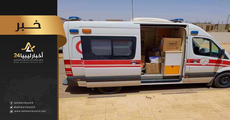 صورة مستشفى تراغن ترسل قافلة مساعدات طبية إلى مدينة غات
