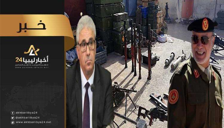 """صورة بعد تحويله أموال لدولة صربيا .. باشاغا يطالب بفتح تحقيق مع """"جويلي"""""""