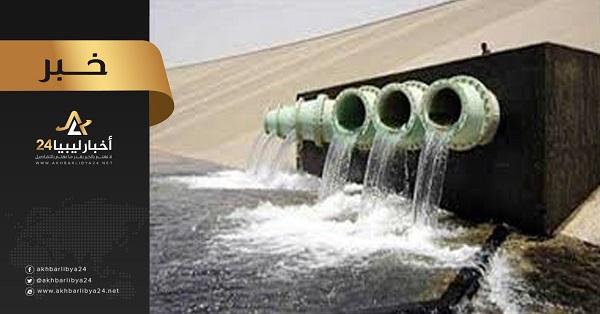 صورة النهر الصناعي ينفي وجود تسريب في المحطات والإمداد المائي مستمر ببنغازي