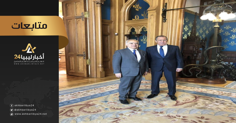 صورة بعد زيارة حفتر لروسيا .. سلامة في موسكو لبحث التطورات في ليبيا