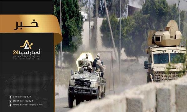 صورة الخرطوش: 18 قتيل من قوات حكومة الوفاق في محور وادي الربيع