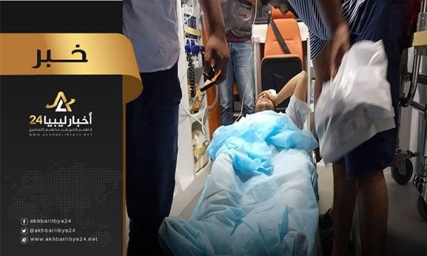 """صورة مُنددة بقصف مستشفى الزاوية.. البعثة الأممية : """"11"""" حالة وفاة بالقطاع الطبي جراء اشتباكات طرابلس"""