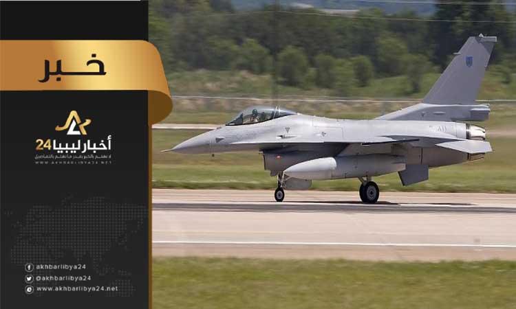 """صورة سيكون لها دور في حسم المعركة .. دخول طائرات """"اف 16"""" المقاتلة للخدمة ضمن سلاح الجو بالجيش الوطني"""