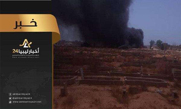صورة للتحقيق في تفجيرات مقبرة الهواري .. إيقاف جميع رؤساء الأجهزة الأمنية في بنغازي
