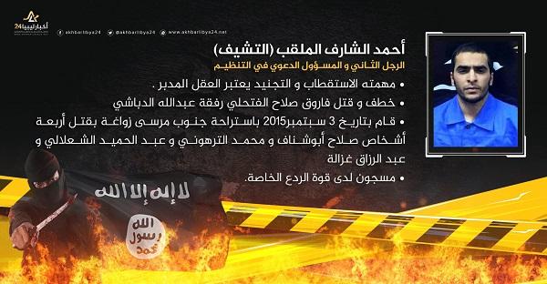 صورة البطاقة الثانية: أحمد الشارف الملقب (التشيف)