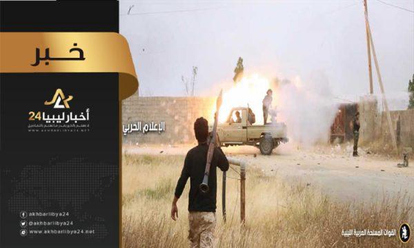 صورة الخرطوش: مناوشات بسيطة تشهدها بعض محاور طرابلس وتعزيزات كبيرة لعدة وحدات