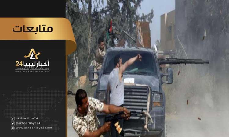 صورة عقب انتهاء هدنة العيد .. مقتل عدد من قيادات قوات الوفاق