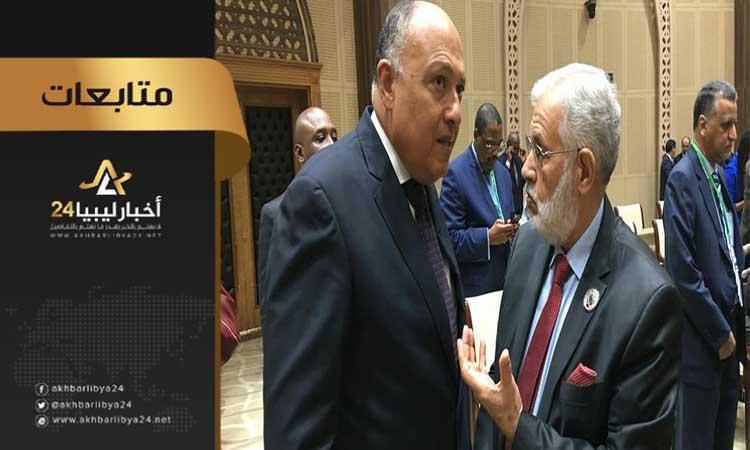"""صورة رغم دعم الخارجية المصرية .."""" خارجية الوفاق"""" التسوية المصرية تجاهلت اتفاق الصخيرات"""