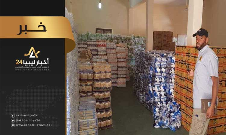 صورة الوطنية للنفط تساهم في جهود الإغاثة الإنسانية في مرزق