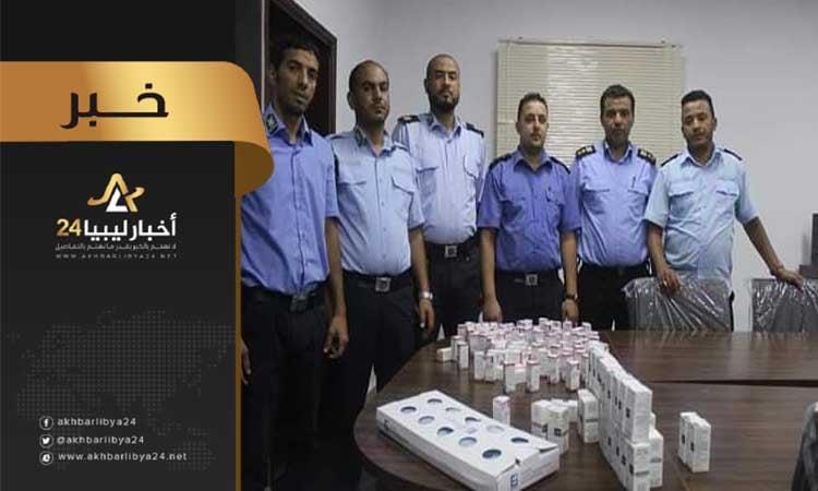 """صورة ضبط شحنة أدوية بمطار بنينا الدولي """"إسرائيلية"""" المنشأ"""