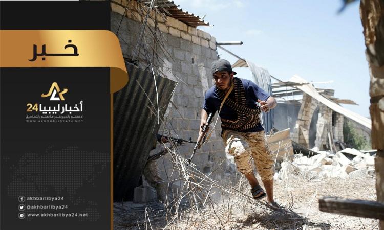 صورة صد هجوم فاشل لقوات الوفاق على بلدة الزطارنة