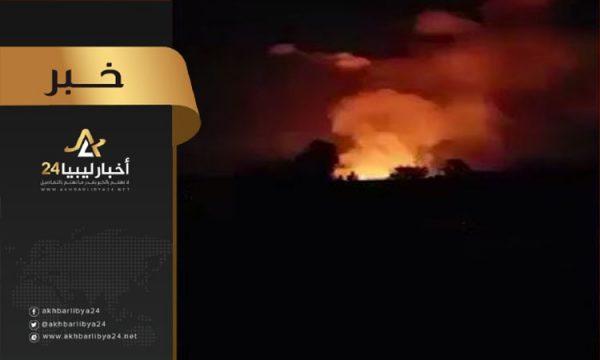 """صورة المنفور لـ""""أخبار ليبيا24″: هذه كانت أهدافنا داخل الكلية الجوية مصراتة"""