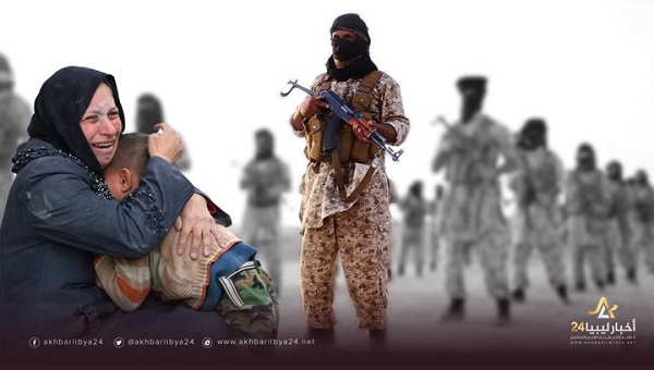 صورة النساء ضحايا حِيَل داعش البشعة